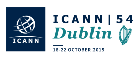 54th International Public ICANN Meeting - 18-22 October 2015 - Dublin, Ireland