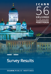 ICANN56 Survey Results