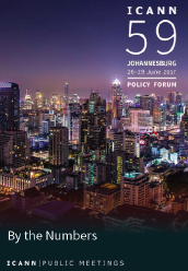 ICANN59 Technical Report