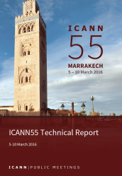 ICANN55 Technical Report