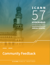 ICANN57 Community Feedback