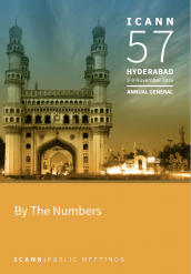 ICANN57 By the Numbers Report