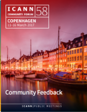 ICANN58 Community Feedback