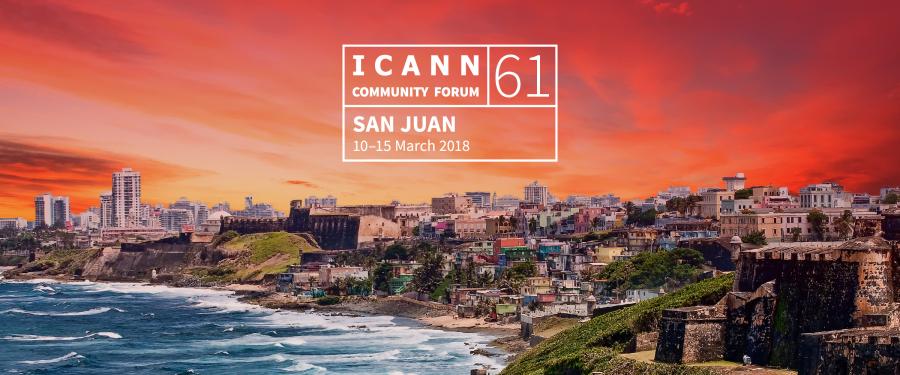 ICANN61 in San Juan, Puerto Rico