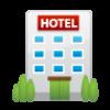 Lugar e hotéis